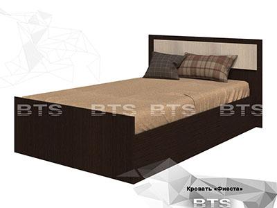 Кровать 900 Венге/Лоредо - Фиеста