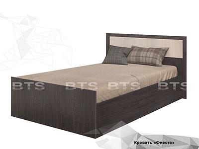 Кровать 900 Ясень тёмный/Ясень светлый - Фиеста