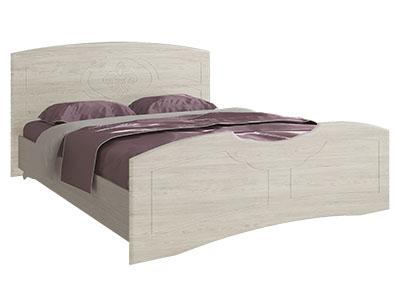 Кровать 1600 Дуб атланта/Дуб белёный - Лилия