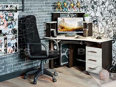 Стол компьютерный Каспер Венге/Лоредо нов.