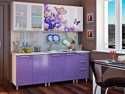 Кухня Люкс модульная - Ирис (2,0м)
