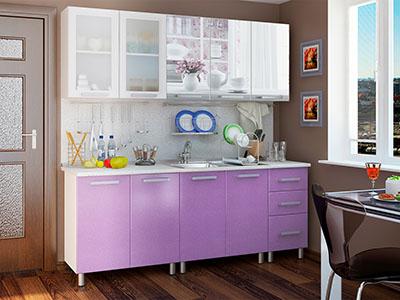 Кухня Люкс модульная - Акварель (2,0м)