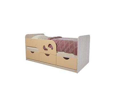 Кровать детская Минима Лего 1600 Дуб атланта/Крем