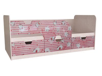 Кровать детская Минима с ящиками 1860 Китти