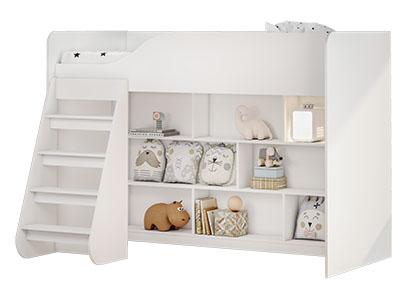 Кровать детская КР-07 Белый