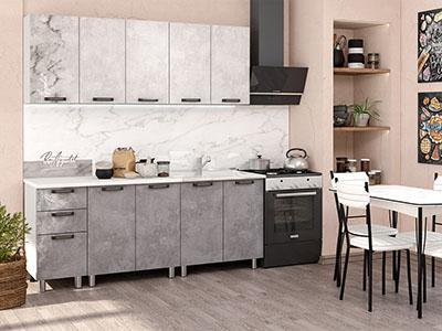 Кухня Bon Appetit - Серый камень (2,0м)