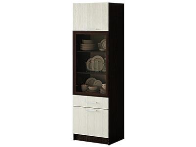 Шкаф для посуды Венге/Лоредо - Фиеста