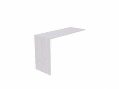 Стол приставной 1250 Ясень Анкор св. - Бриз-1