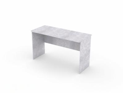Стол Цемент светлый - Стол компьютерный №7