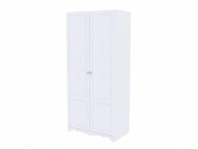 Шкаф 2-х ств. универс. Белый/Белый структурный - Версаль
