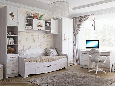 Набор мебели для детской «Акварель 1» Море