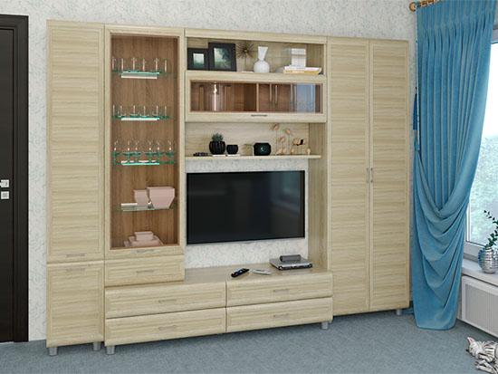 Гостиная Мелисса-10 - Дуб Сонома