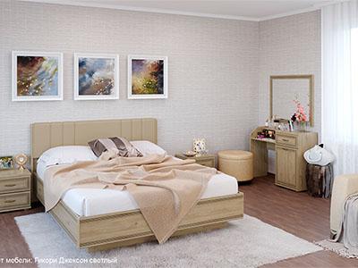 Спальня Карина-7 - Гикори Джексон
