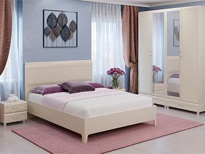 Спальня Мелисса-3 - Дуб Беленый