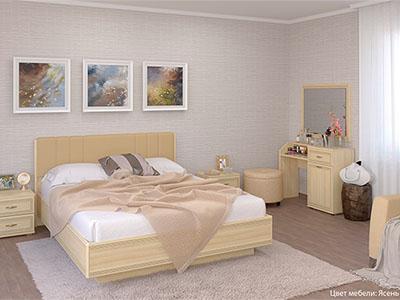 Спальня Карина-7 - Ясень Асахи