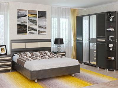 Спальня Мелисса-5 - Дуб Венге-комб.
