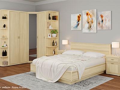 Спальня Карина-8 - Ясень Асахи