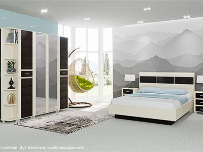 Комплект мебели для спальни «Камелия-8»
