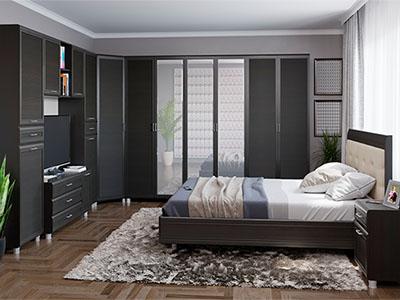 Спальня Мелисса-7 - Дуб Венге