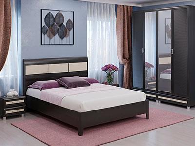 Спальня Мелисса-3 - Дуб Венге, вст.Беленый