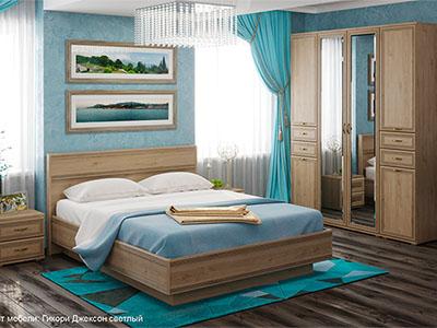 Спальня Карина-1 - Гикори Джексон