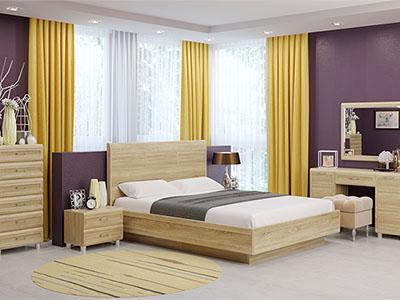Спальня Мелисса-2 - Дуб Сонома