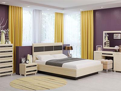 Спальня Мелисса-2 - Дуб Беленый-комб.