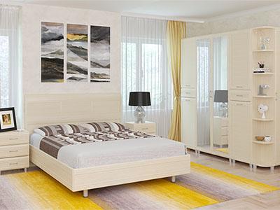Спальня Мелисса-5 - Дуб Беленый