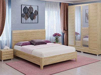 Спальня Мелисса-3 - Дуб Сонома