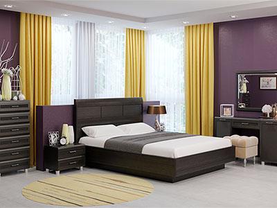 Спальня Мелисса-2 - Дуб Венге