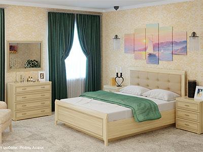 Спальня Карина-5 - Ясень Асахи