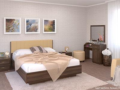 Спальня Карина-7 - Акация Молдау