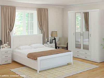 Спальня Карина-4 - Снежный Ясень
