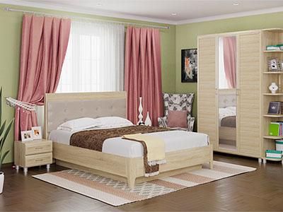 Спальня Мелисса-1 - Дуб Сонома