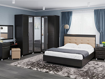 Спальня Мелисса-6 - Дуб Венге