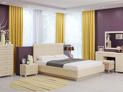 Спальня Мелисса-2 - Дуб Беленый