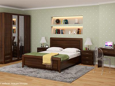 Спальня Карина-6 - Акация Молдау