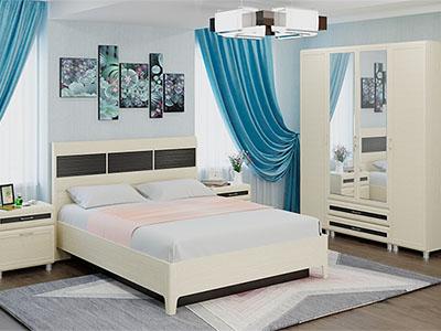 Спальня Мелисса-4 - Дуб Беленый-комб.