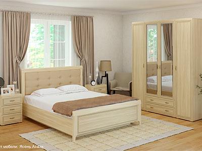 Спальня Карина-4 - Ясень Асахи
