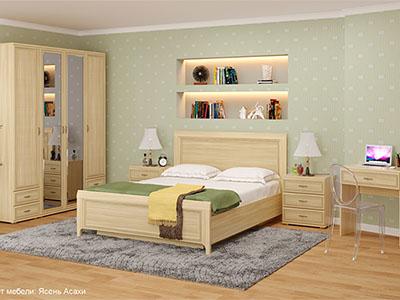 Спальня Карина-6 - Ясень Асахи