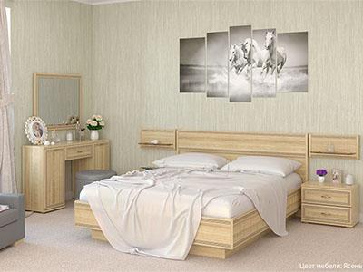 Спальня Карина-9 - Ясень Асахи