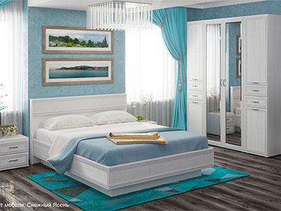 Спальня Карина-1 - Снежный Ясень