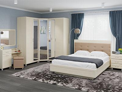 Спальня Мелисса-6 - Дуб Беленый
