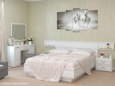 Спальня Карина-9 - Снежный Ясень