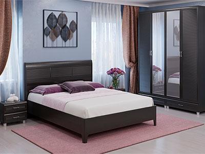 Спальня Мелисса-3 - Дуб Венге