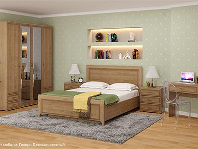 Спальня Карина-6 - Гикори Джексон
