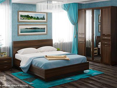 Спальня Карина-1 - Акация Молдау