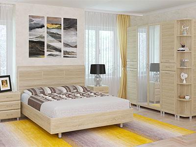 Спальня Мелисса-5 - Дуб Сонома