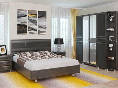Спальня Мелисса-5 - Дуб Венге