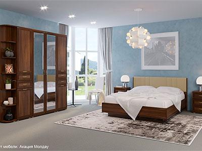 Спальня Карина-3 - Акация Молдау